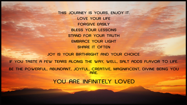 You are infinitely loved by Jamye Price
